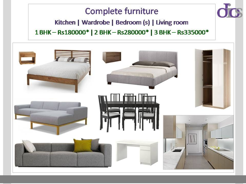 Dios Introduces Standard Furniture Packages For All Income - 1 bedroom furniture packages