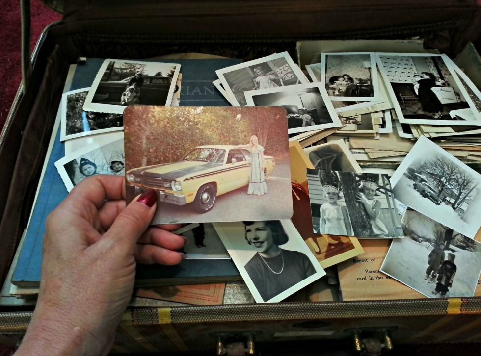 """Clutter Challenge: """"I have generations' worth of photos, letters and keepsakes to sort through."""""""