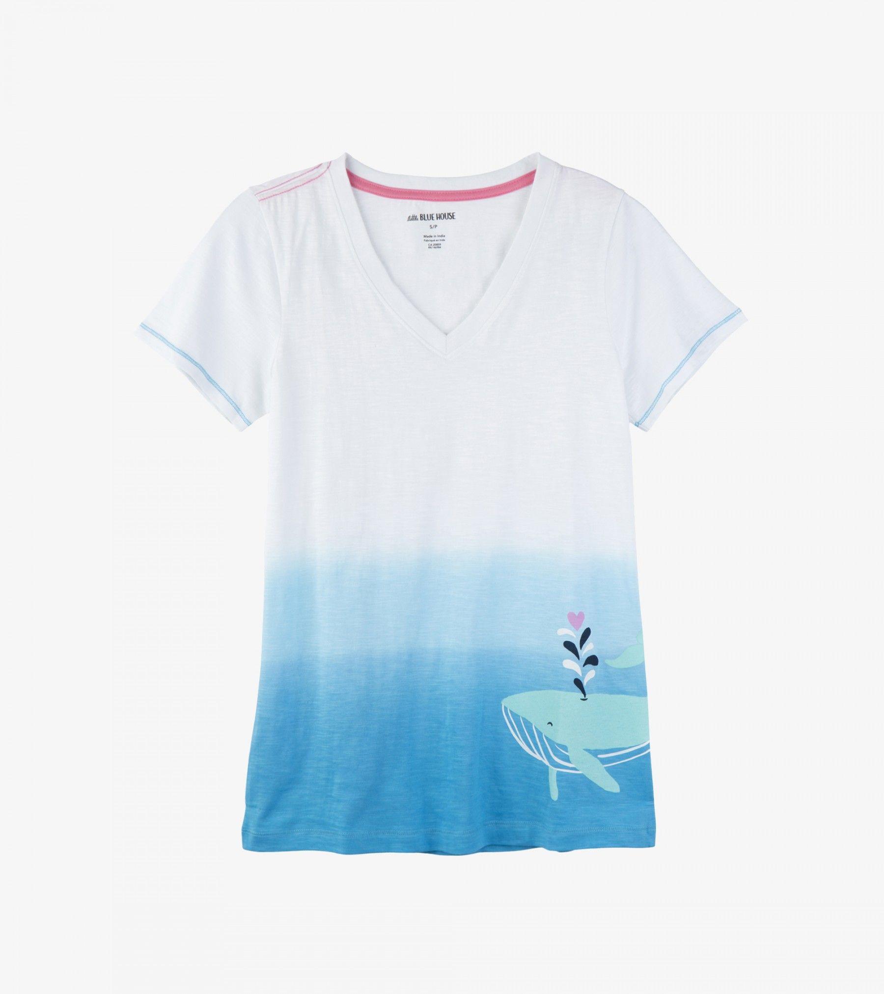 Little Blue House by Hatley Mens Short Sleeve Pajama Tee