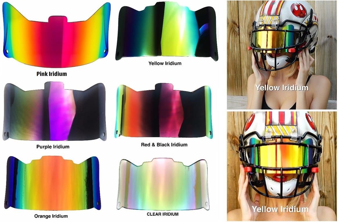 95f420b7b SHOC Visor for Football   Football Visors   Helmet visor, Football ...