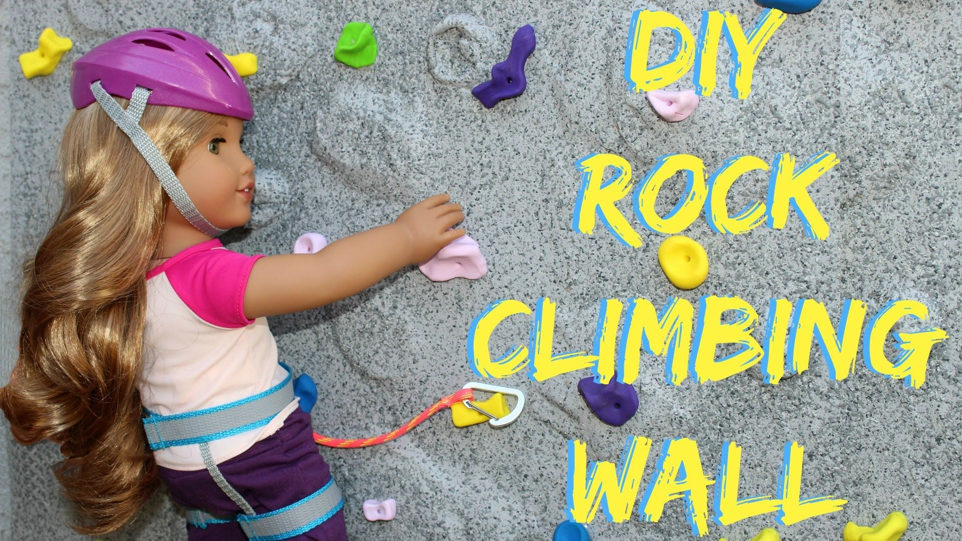 Diy American Girl Rock Wall Craft Diy American Girl Crafts