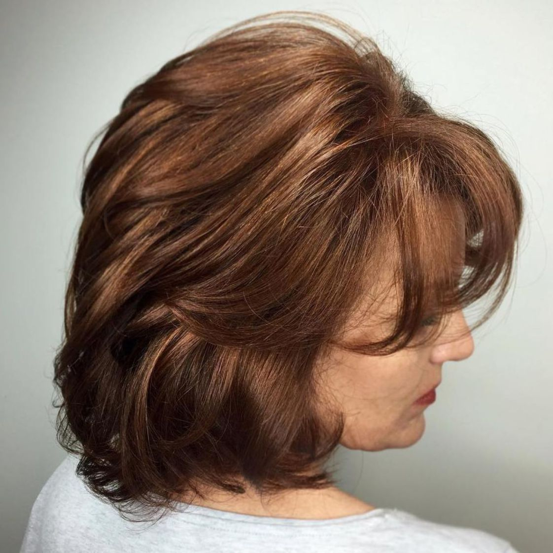 28+ Medium hairstyles with bangs over 60 ideas in 2021