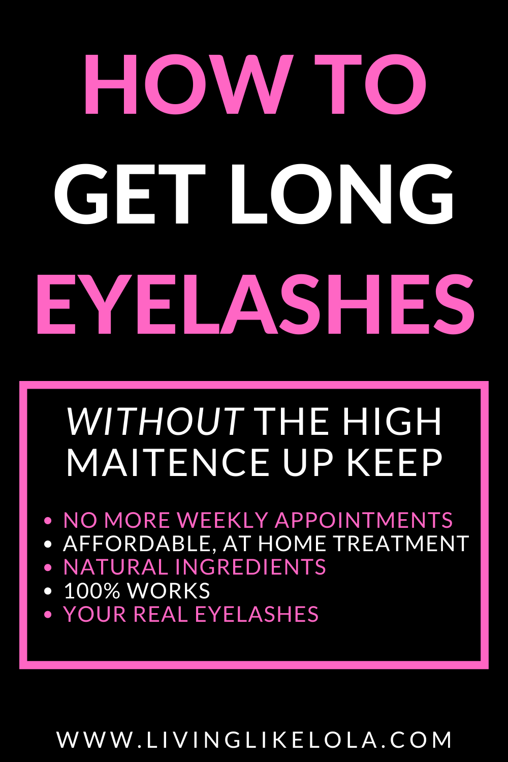 How To Grow Long Eyelashes Naturally in 2020 (With images ...