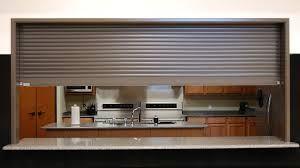 Kitchen Roll Up Door Design Ideas
