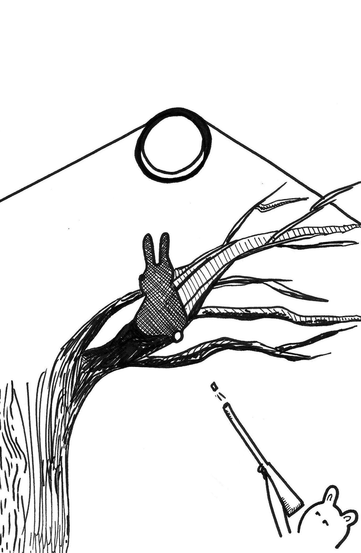 Caza De Conejos Pittadevi Caza De Conejos Ilustraciones Dibujos