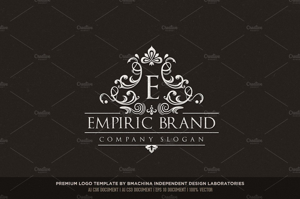 Empiric Brand Logo Logo branding, Luxury logo, Premium logo