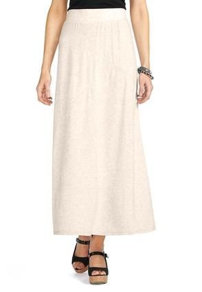 eb0111ad87d Cato Fashions Slub Knit Panel Maxi Skirt - Plus  CatoSummerStyle. Love!