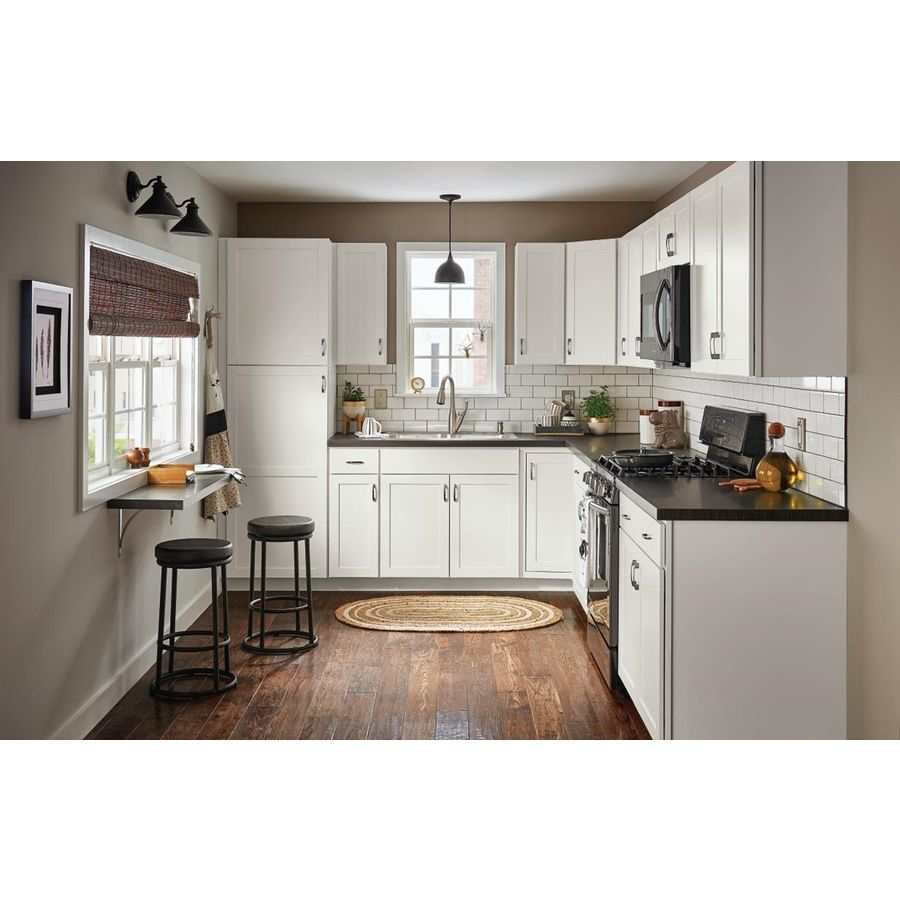 Diamond Now Arcadia 18 In W X 84 In H X 23 75 In D Truecolor White Door Pantry Stock Cabinet Lowes Com Kitchen Cabinet Design Kitchen Design Top Kitchen Designs