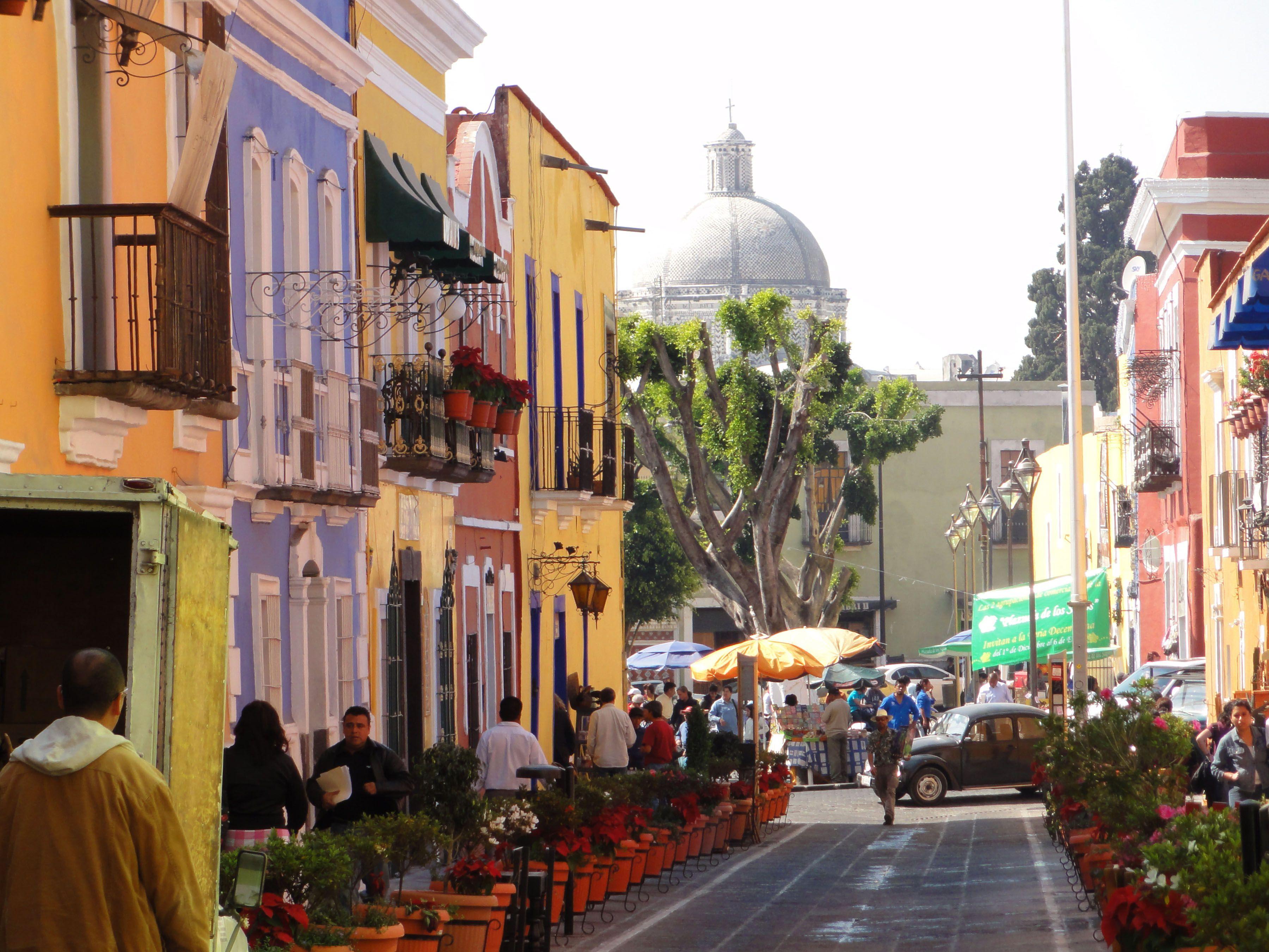 Callejón de los Sapos en Puebla