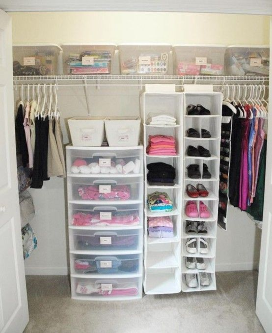 ideas to organize a closet