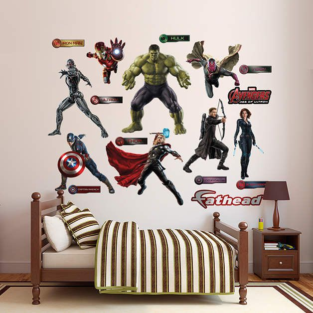 Genial Fathead Avengers Age Of Ultron Decal Collection   Wall Sticker Outlet