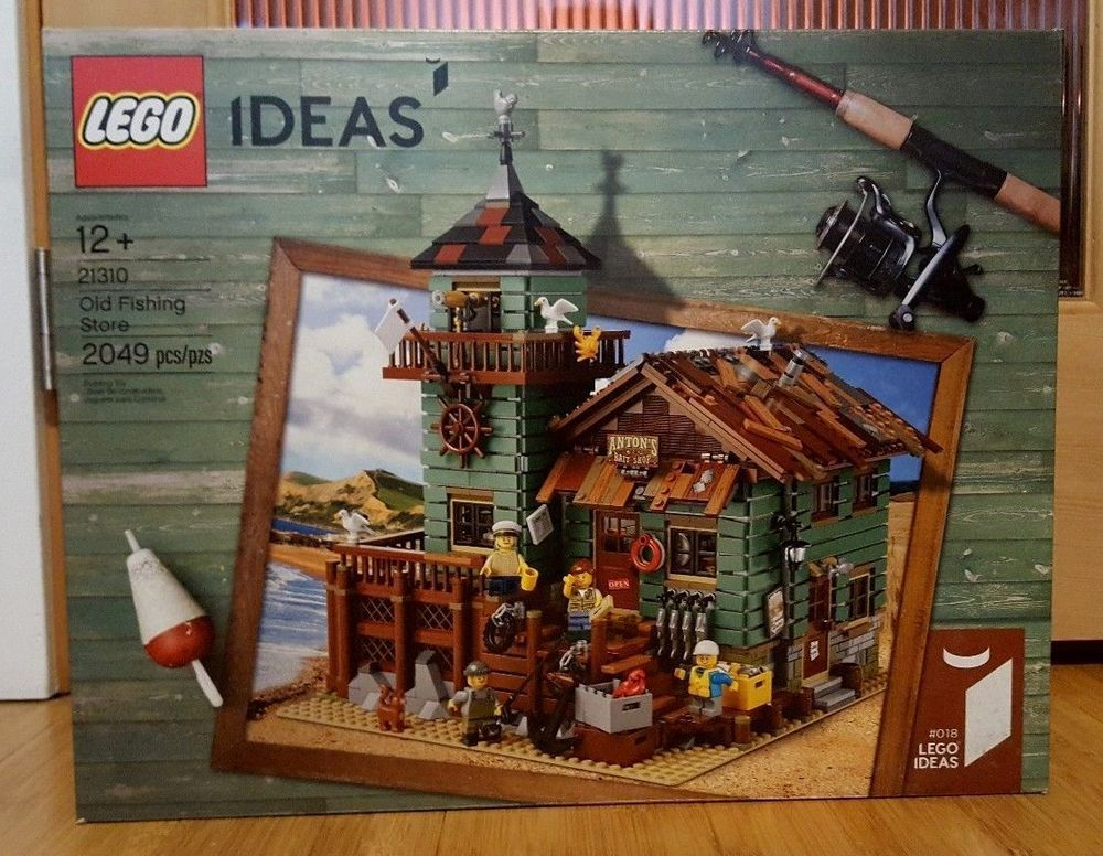 LEGO Ideas Old Fishing Store 21310 Brand New Unopened
