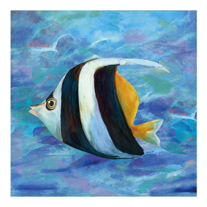 Pintura de peces abstractos modernos buscar con google for Cuadros con peces