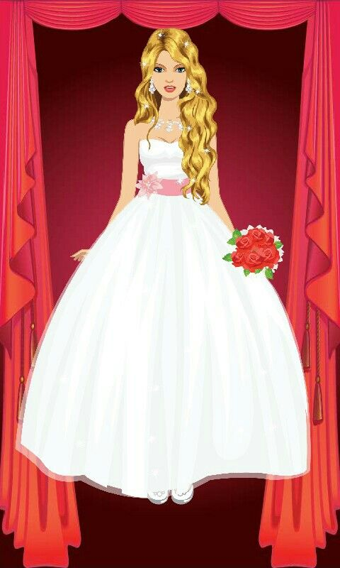 This is what i made on this brides made game