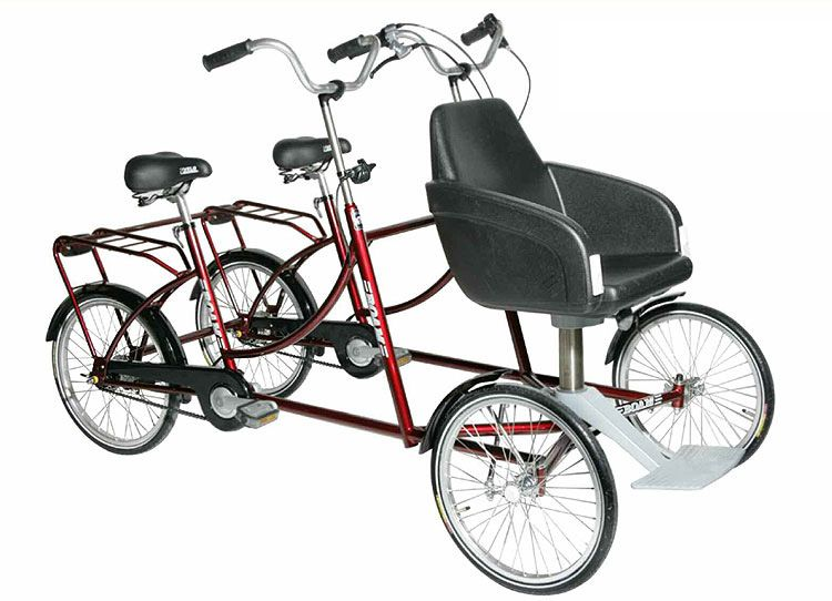 Hand Bike Wheelchair Wheelchair Tandem Bike Childrens