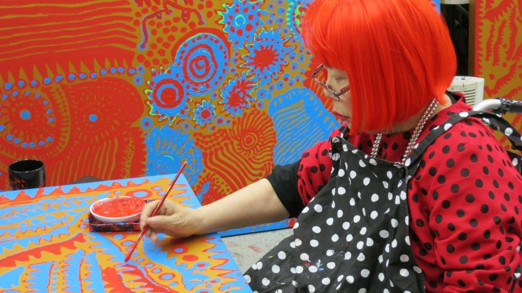 """The """"Endless Obsession"""" from the artist Yayoi Kusama"""