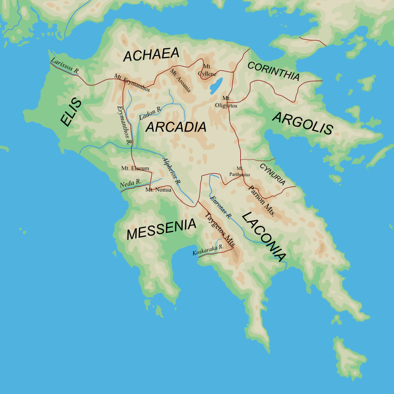 arcadia greece | ... Arcadia - Tegea and Mantineia in the Archaic ...