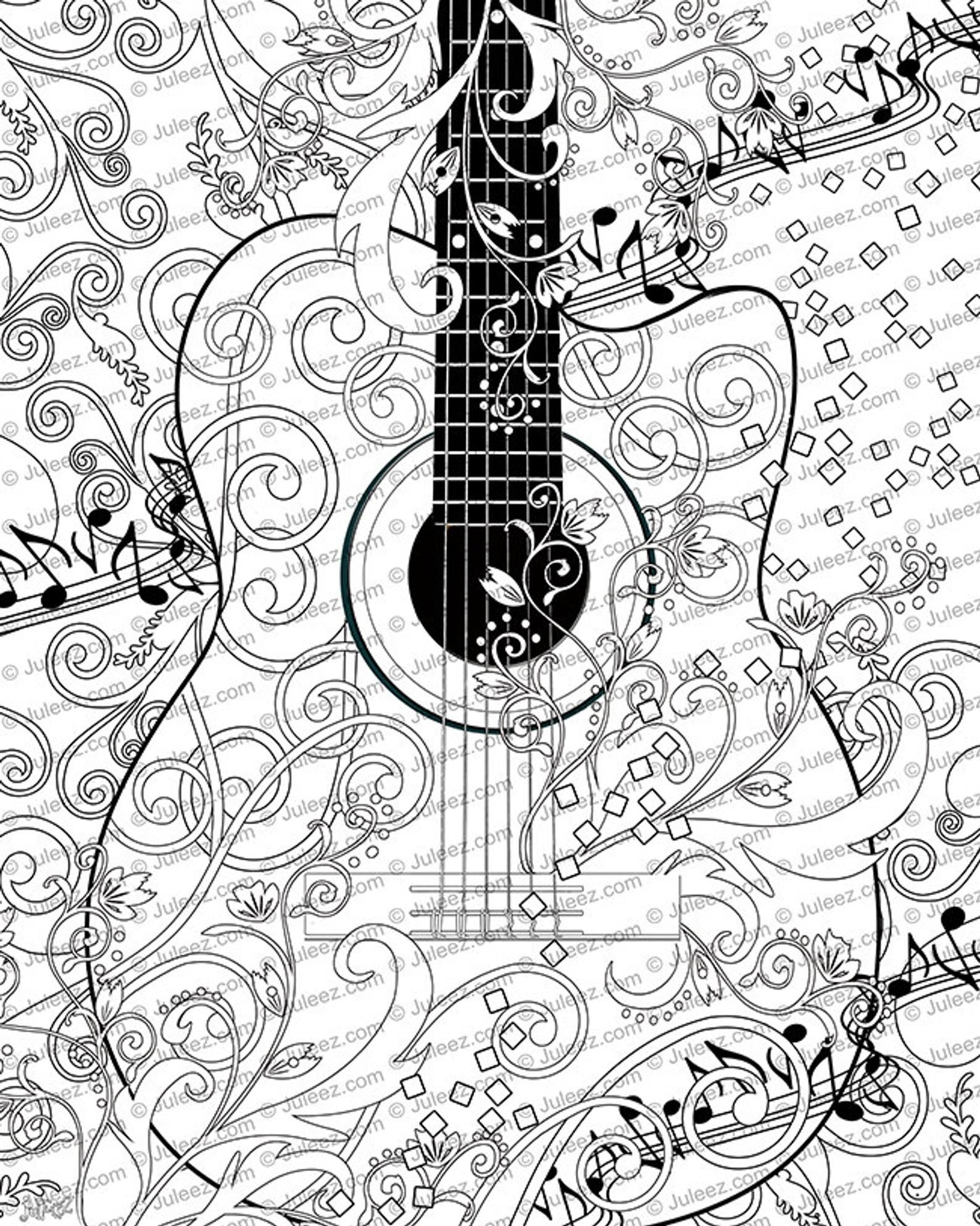 Printable Music Coloring Pages Inspirational Music Kids Original Coloring Page Relax Color Free Printable In 2020 Music Coloring Music Coloring Sheets Elementary Music