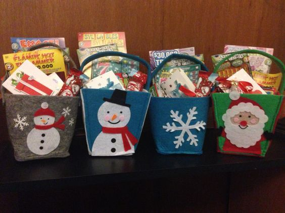 Made these Lottery bags last year for Christmas for people Found