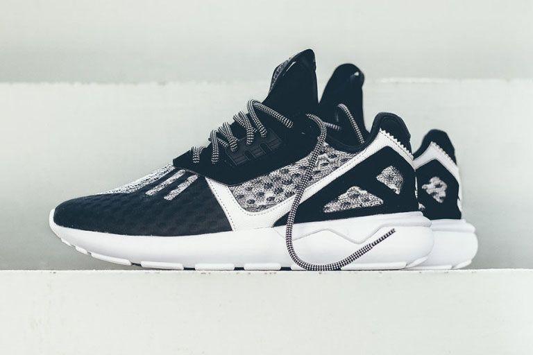 nike shox chaussures 11 - Adidas Tubular Runner Weave (Core Black, Tomato & White ...