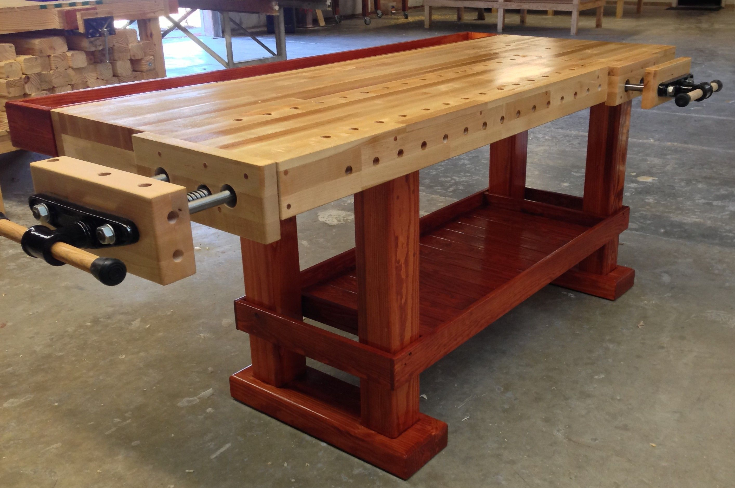 The Original Paul Revere Woodworking bench