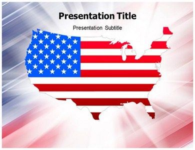 Editable US map template in PowerPoint provides ways to edit ...