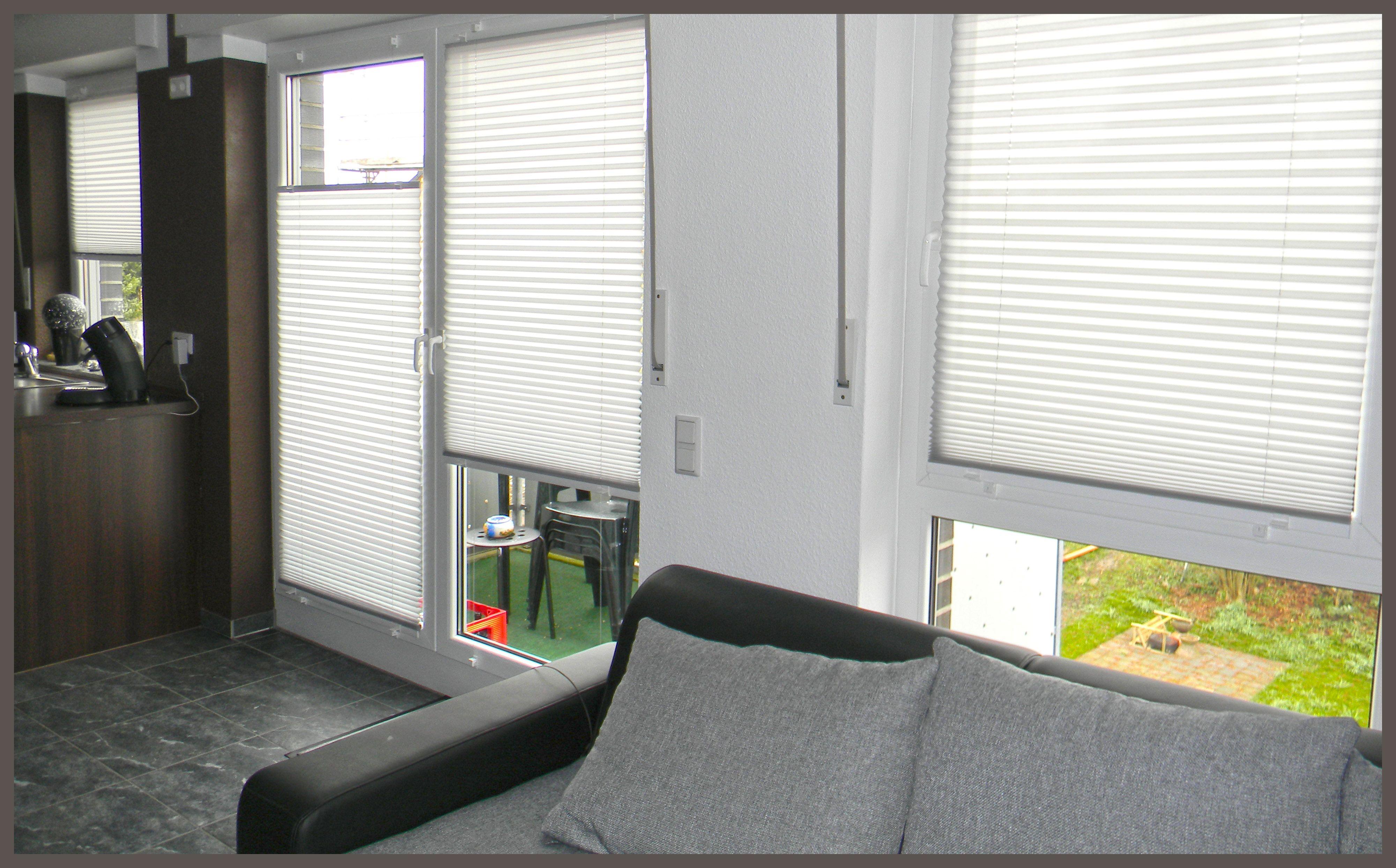 Awesome  plissee wohnzimmer wohnidee gem tlich Macht Euer Zuhause sch ner mit unseren Plissees