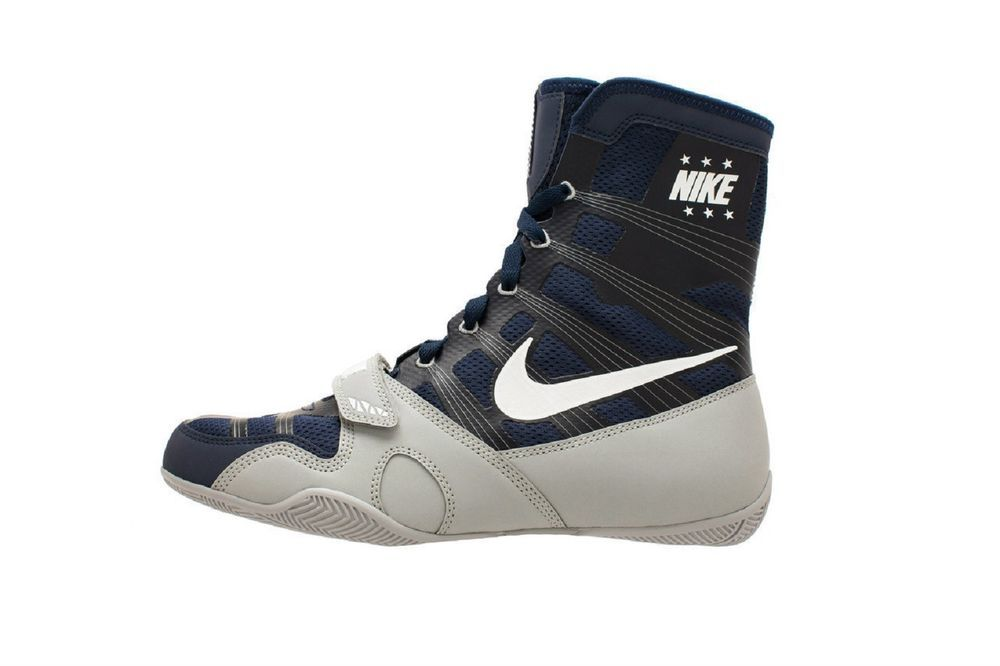 consumirse Seguro Centro de producción  NIKE HYPERKO LIMITED EDITION MIDNIGHT NAVY/WHITE/SILVER BOXING SHOES Men's  | eBay | Boxing shoes, Boxing boots, Leather shoes woman