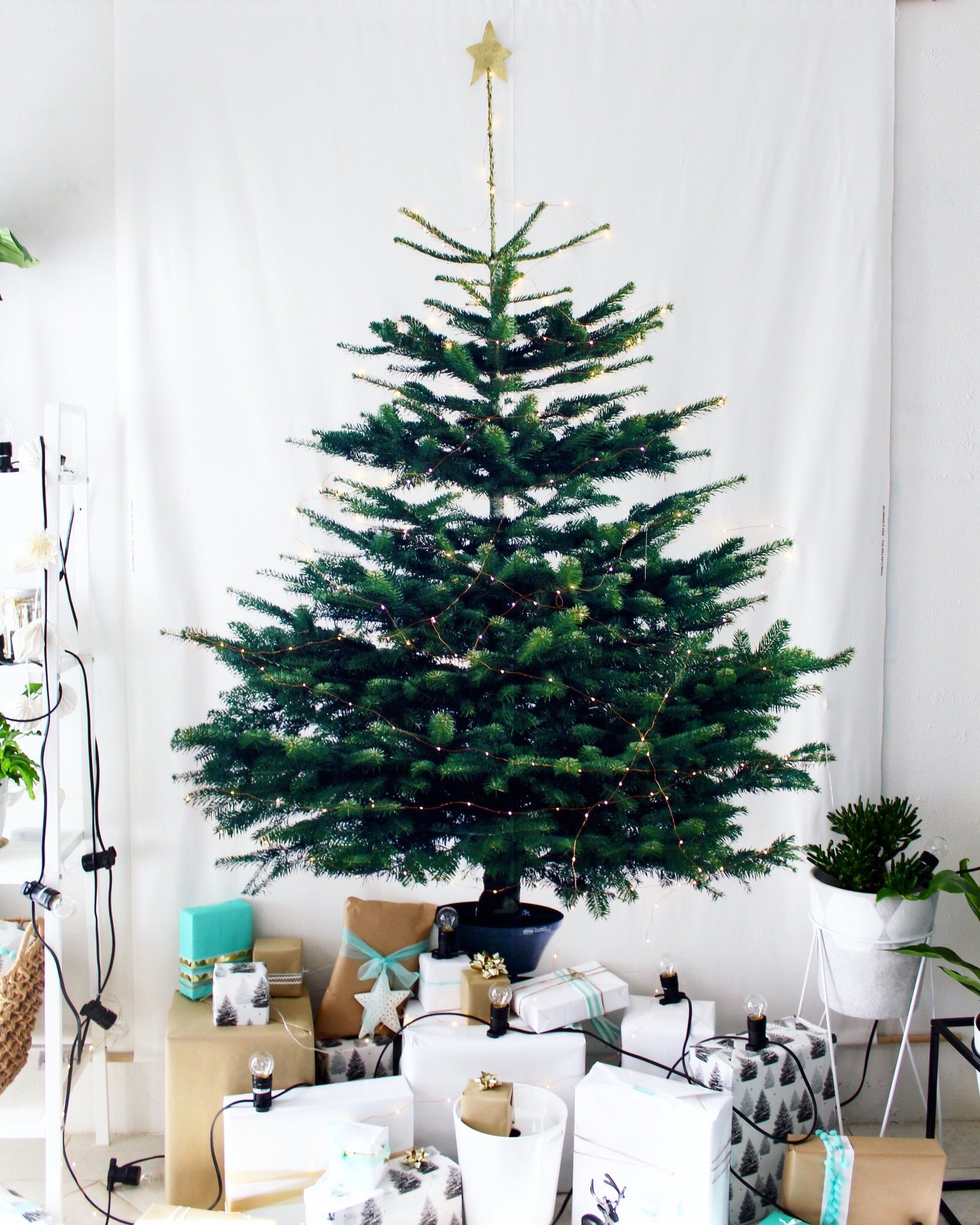 Christmas Decoration Ideas For Small Spaces - Diy Ikea Tree