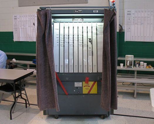 Ballot Boxes and Voting Machines