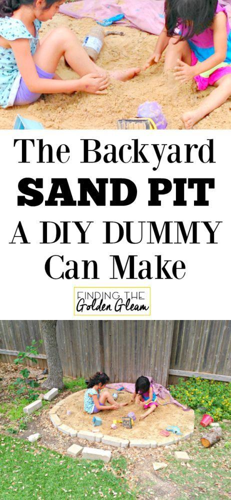 how to make a sandbox