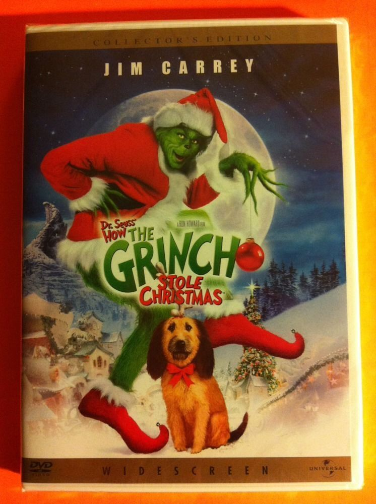 How The Grinch Stole Christmas 1966 Dvd.How The Grinch Stole Christmas Dvd Widescreen Jim Carrey New