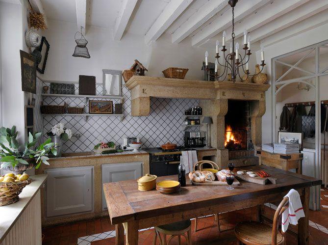 Épinglé Par Mamizouzou Sur Home Déco Pinterest Gabriel - Ambiance campagne chic pour idees de deco de cuisine