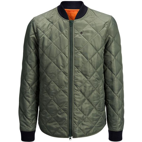Joseph Quilted Nylon Norfolk Jacket In Military 705 Liked On