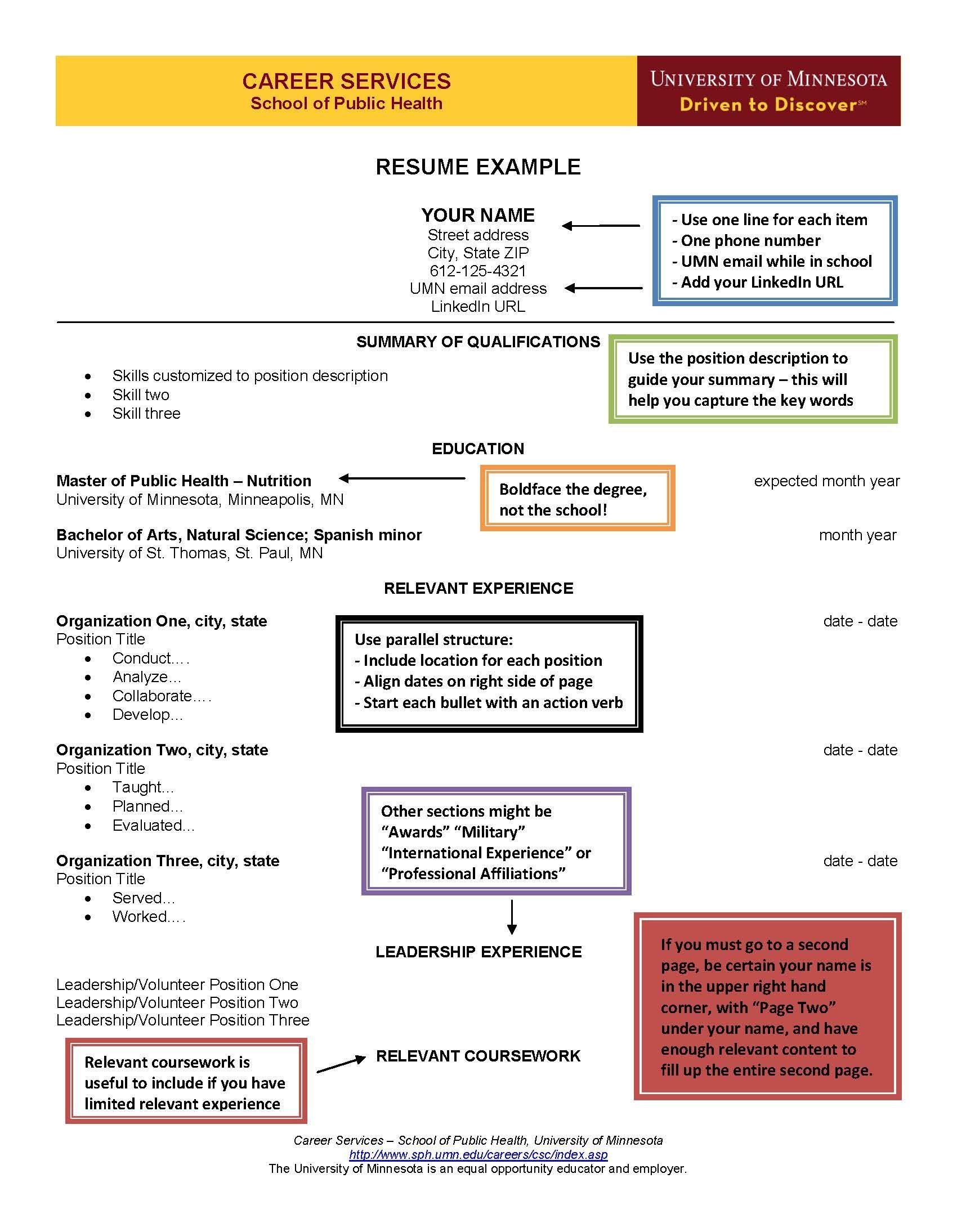 Sample Resume Resume guide, Career help, Resume