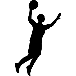 Basketball Player Silhouette Free Svg Silhouette Free Silhouette Free Basketball