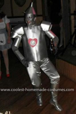 Homemade Tin Man Costume Our group decided to go out dressed as characters from the & Awesome Homemade Tin Man Costume | Pinterest | Tin man costumes Tin ...