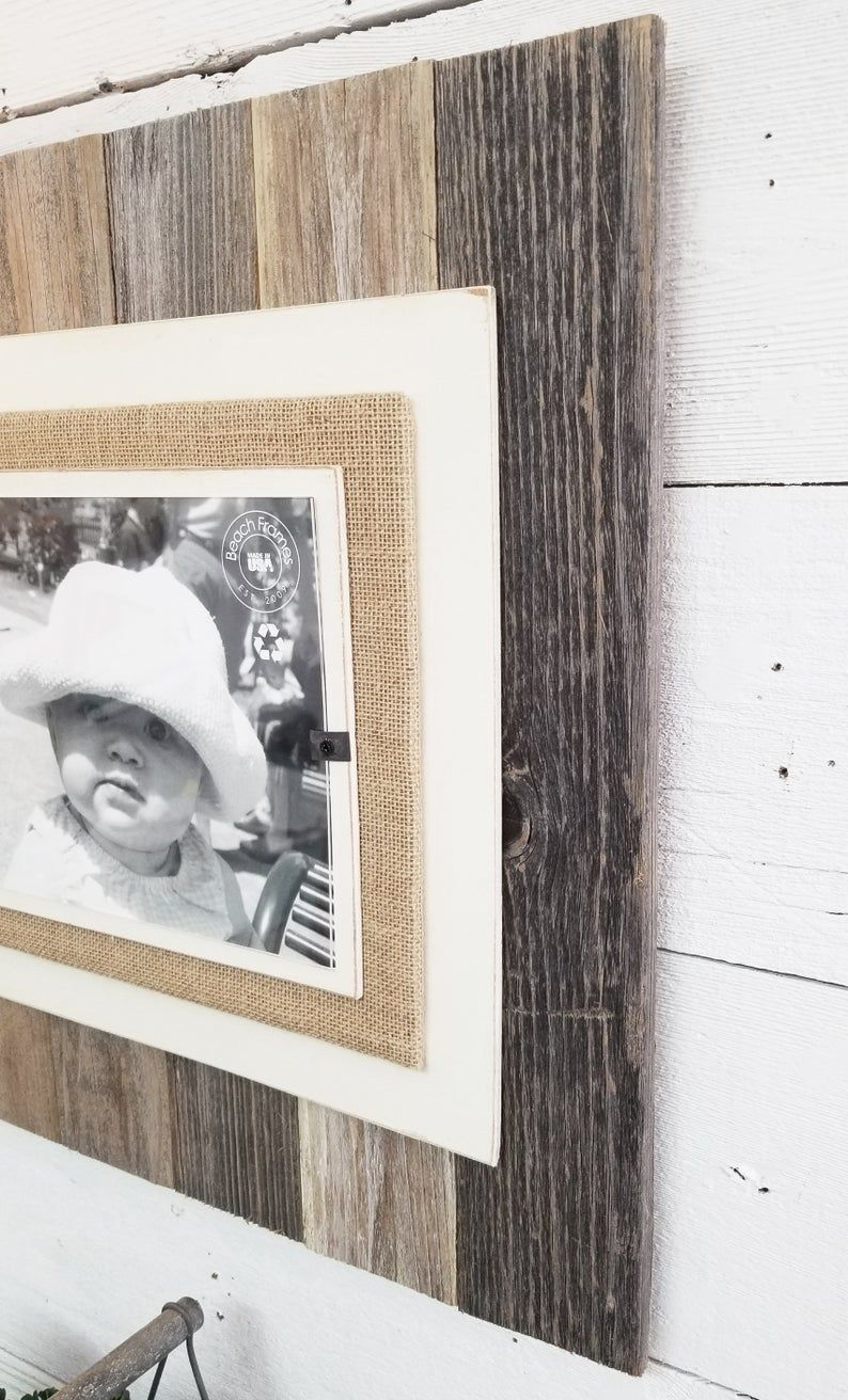 Rustic Reclaimed Wood Picture Frame 8x10 4x6 5x7 Picture Rustic Home Decor 5 Year Anniversary Farmhouse Home Decor In 2020 Picture On Wood Wood Picture Frames Rustic Reclaimed Wood