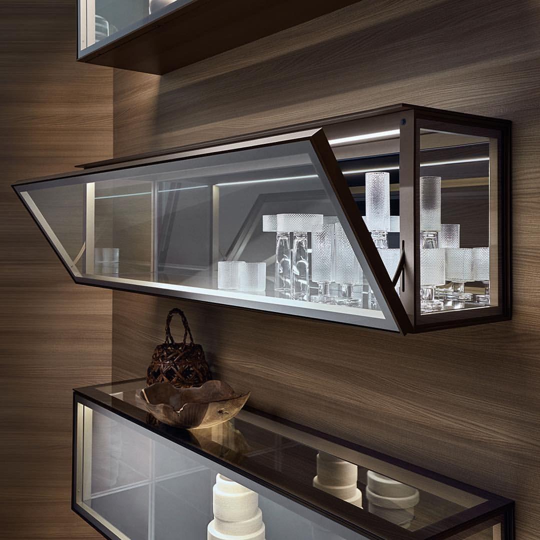 Alambr Glass Cabinets Display Cabinet Decor Glass Shelves Kitchen