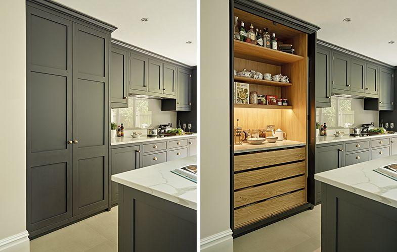 one single light in cupboard looks like plenty new kitchen