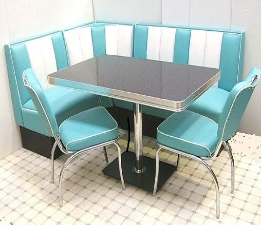 corner booth furniture small space hollywood retro fifties style corner booth table and chairs set size u003d 1300 1800 price includes vat and import costs delivery is usually only bel air 130 180 apartment