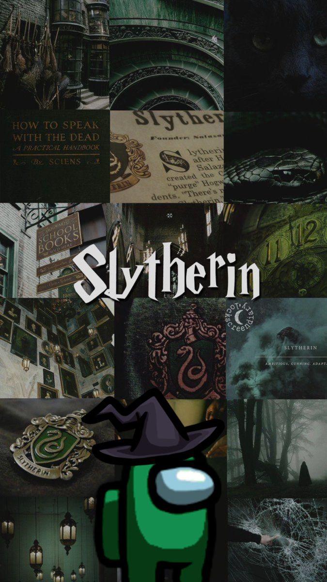 Among Us Harry Potter Wallpaper Slytherin Wallpaper Harry Potter Background