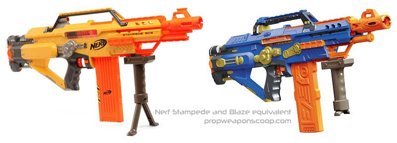 Nerf Stampede And Blaze Ripoof Version Over The Top Toys