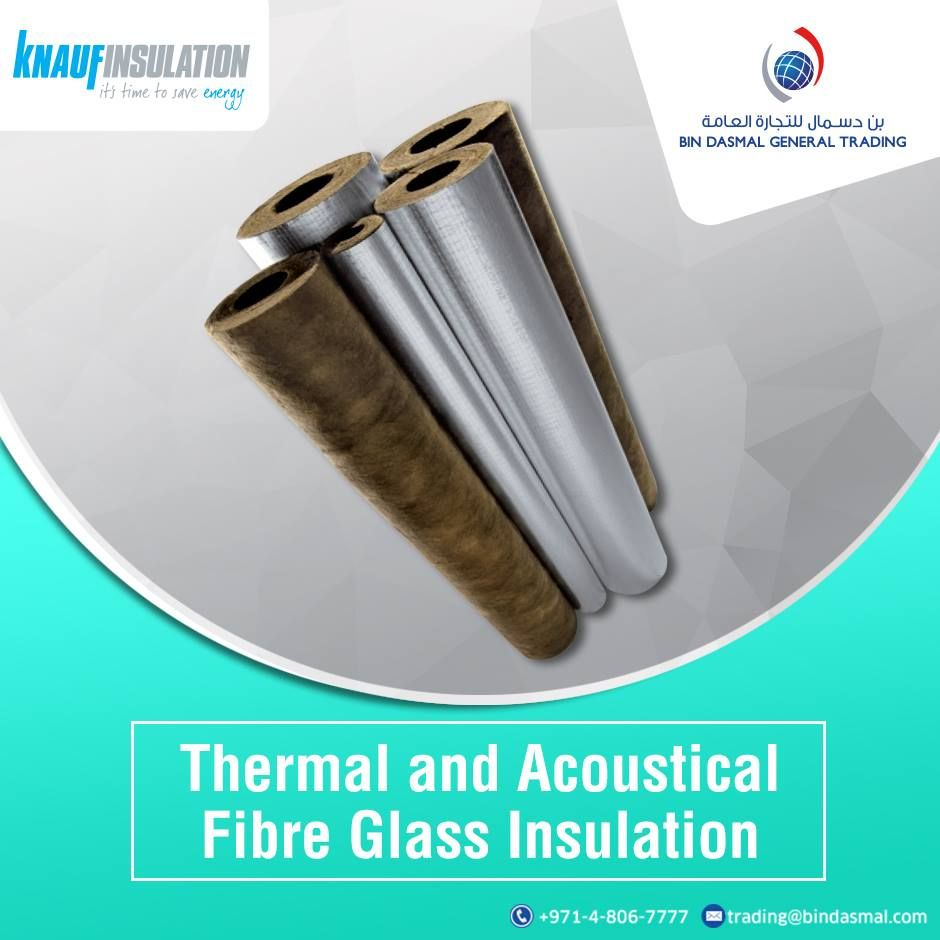 Bin Dasmal General Trading provied products of Knauf Insulation