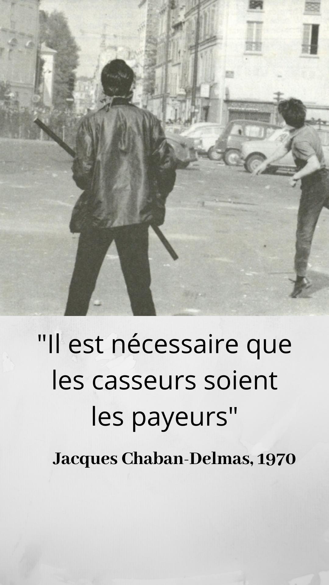 Qui Est A L Origine Des 1970 De La Premiere Loi Anticasseurs Personnage Historique Premiers Sons Citation