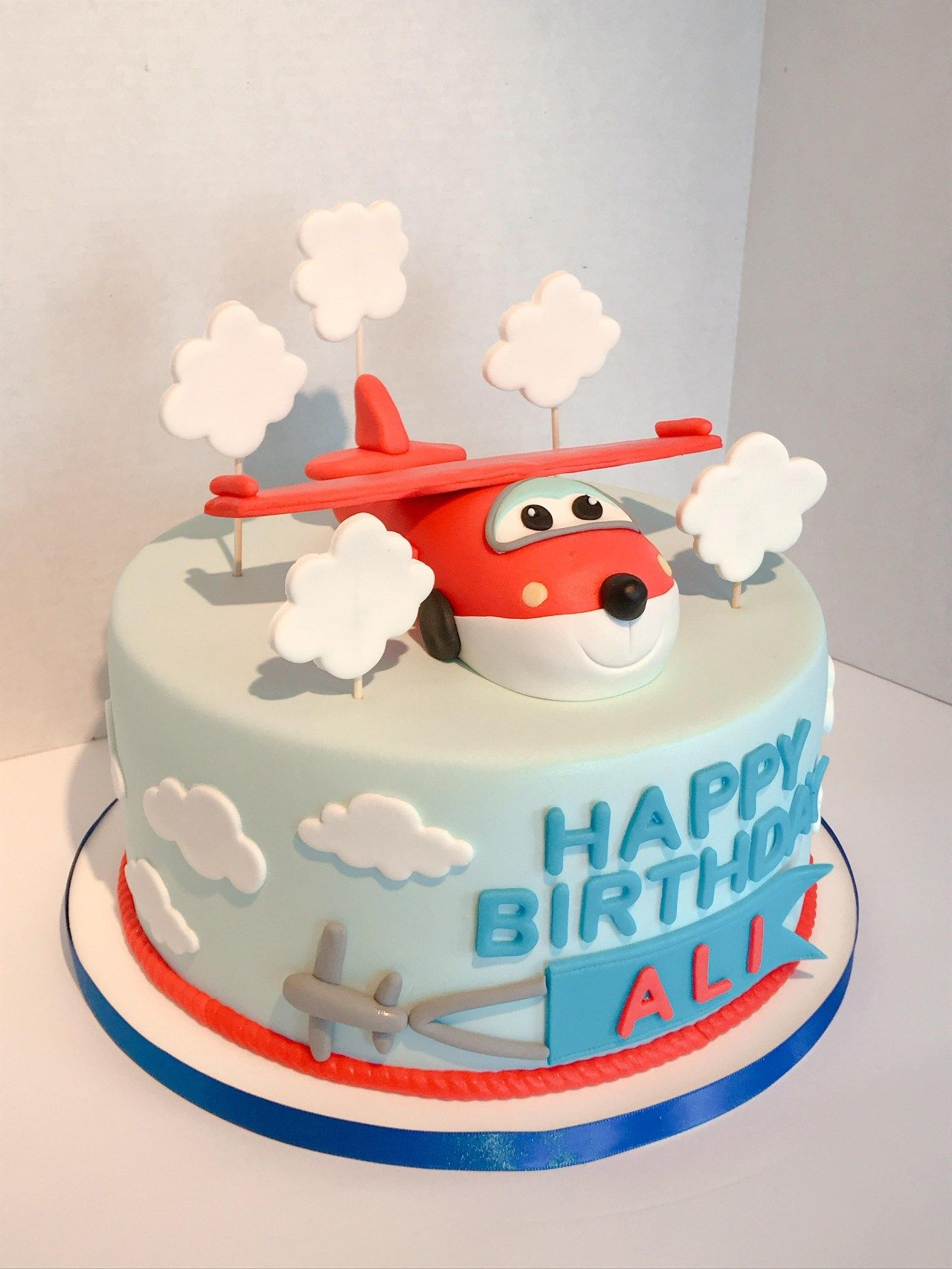 Swell 30 Inspired Photo Of Airplane Birthday Cake With Images Birthday Cards Printable Trancafe Filternl