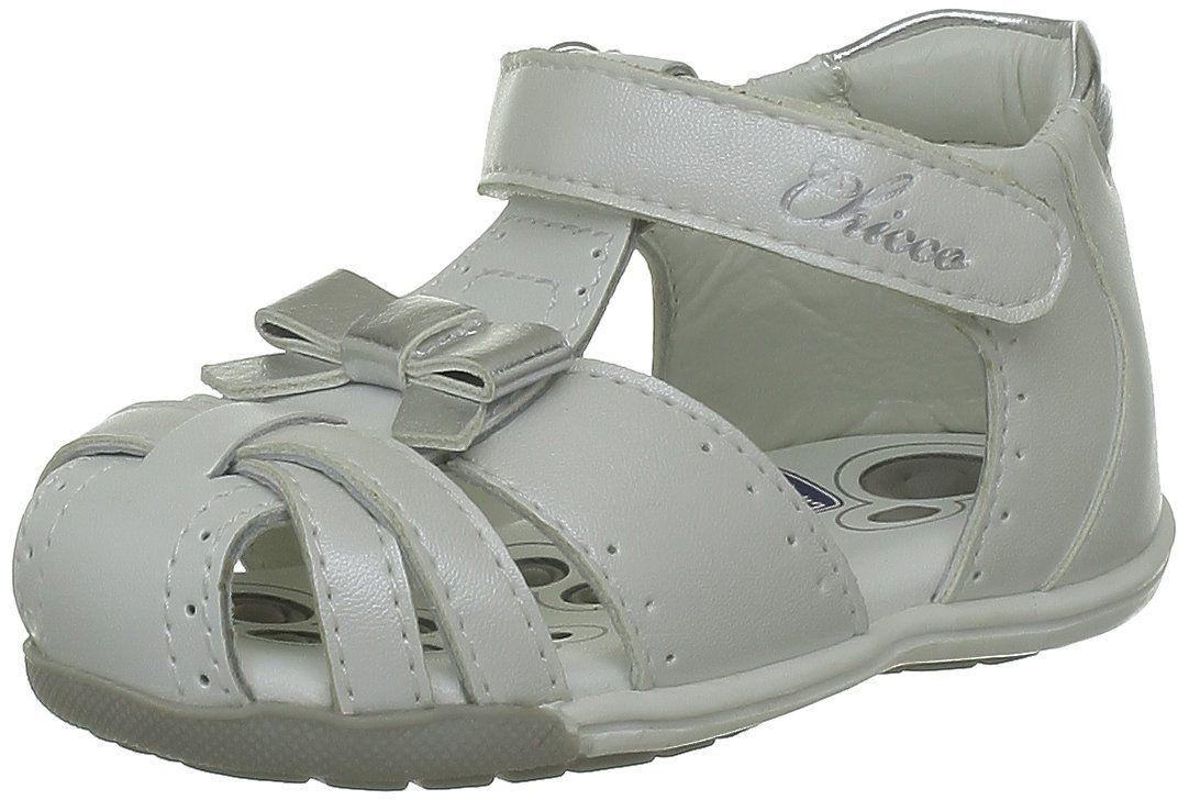 e4f85f4fc Chicco - Sandalias de cuero para niña  Amazon.es  Zapatos y complementos