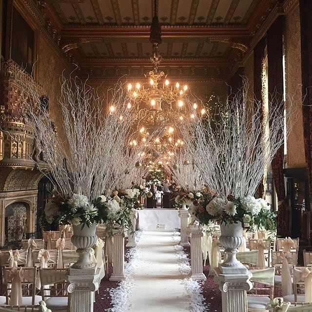 A Winter Wonderland Wedding At @carlton_towers In