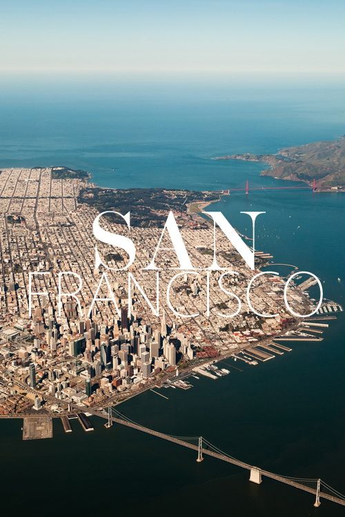 """SAN FRANCISCO, called the """"City by the Bay""""....."""