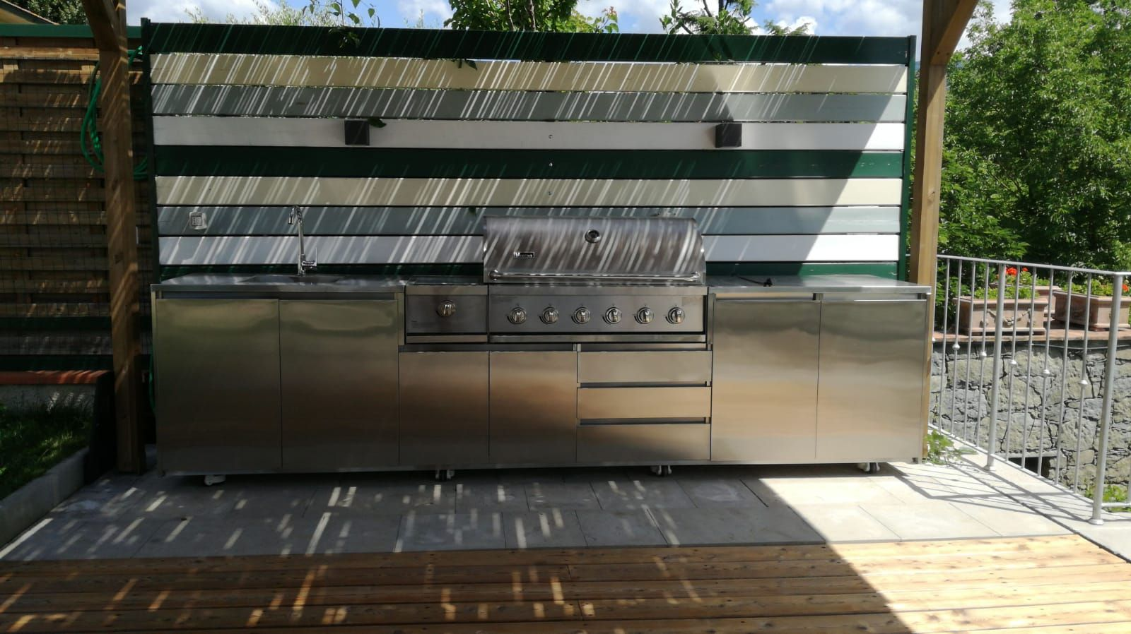 Outdoor Stainless Steel Portable Garden Kitchen Cabinet Stainless Steel Kitchen Cabinets Outdoor Outdoor Kitchen Cabinets